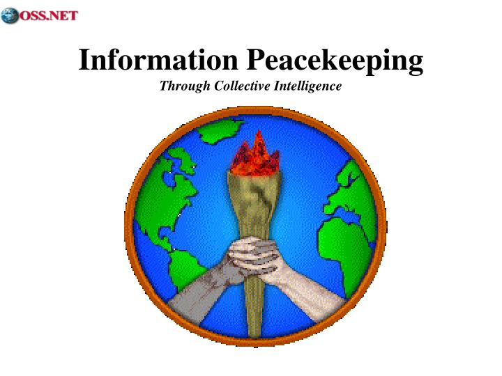 Information Peacekeeping