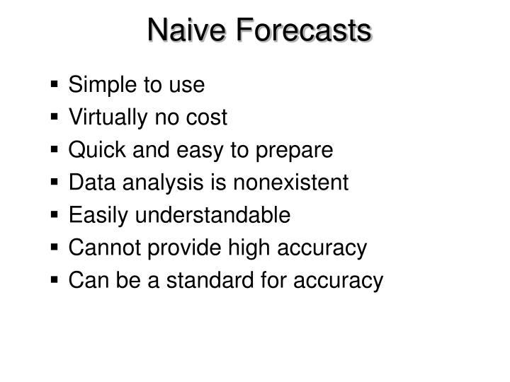 Naive Forecasts