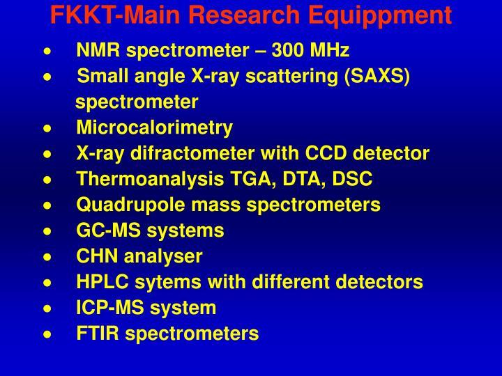 FKKT-Main Research