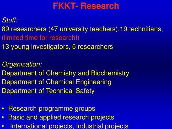 FKKT- Research