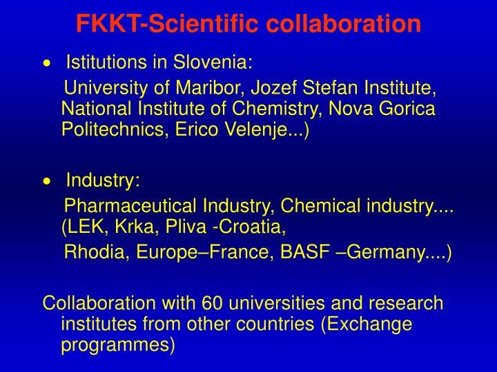 FKKT-Scientific collaboration