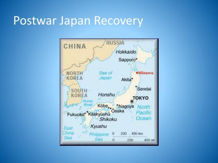 Postwar Japan Recovery