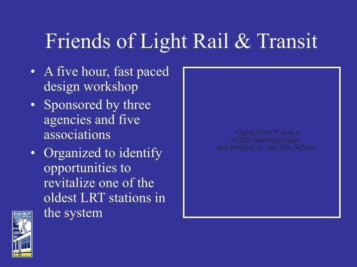 Friends of Light Rail & Transit