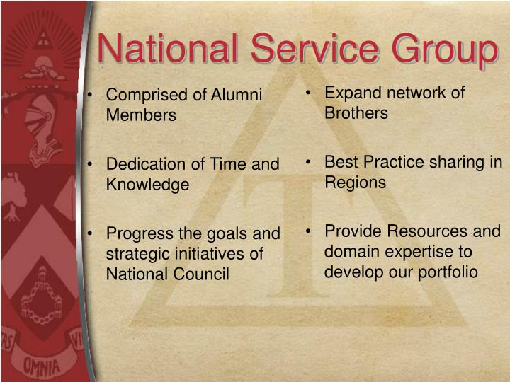National Service Group
