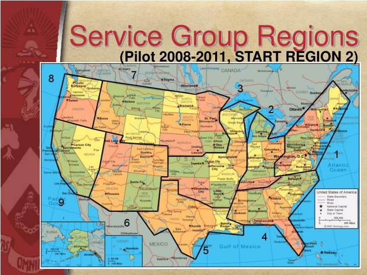 Service Group Regions