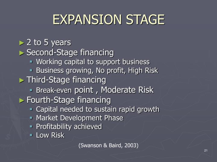 EXPANSION STAGE