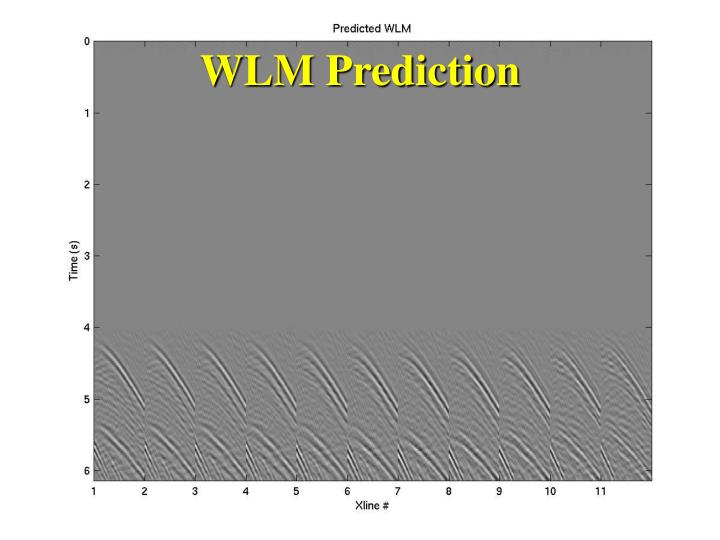 WLM Prediction