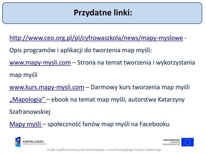 Przydatne linki:
