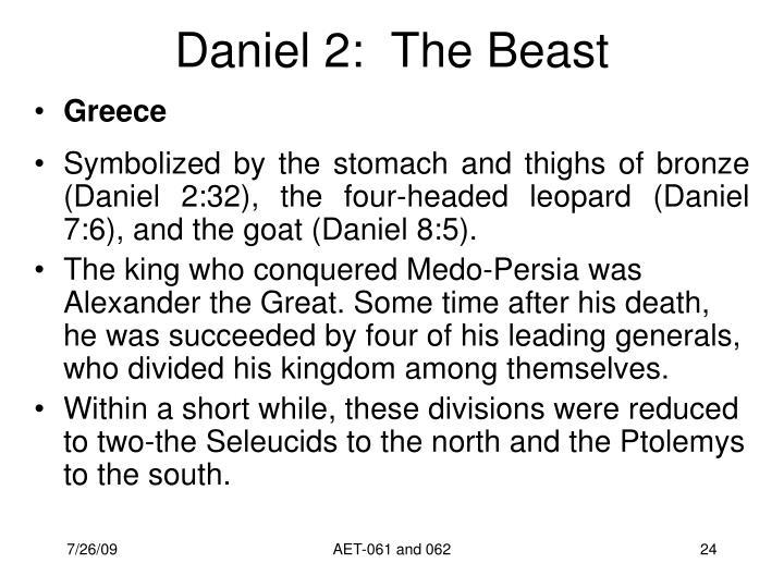 Daniel 2:  The Beast