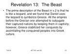 revelation 13 the beast14