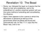 revelation 13 the beast15