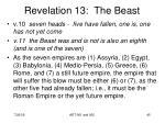 revelation 13 the beast6