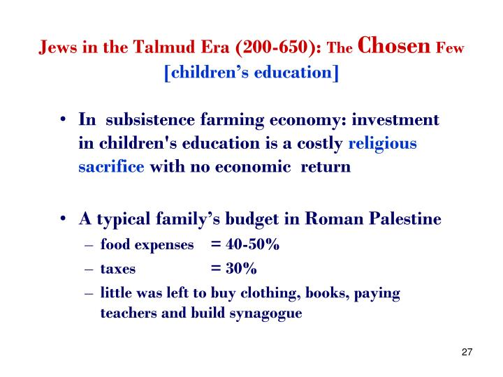 Jews in the Talmud Era (200-650):