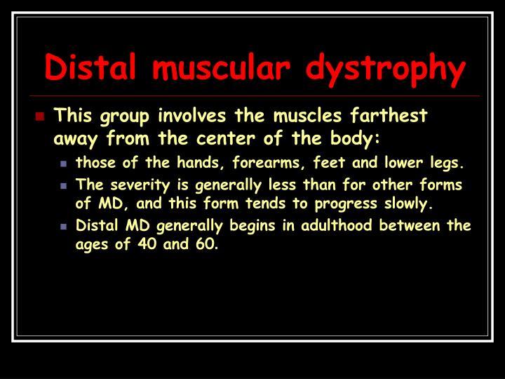Distal muscular dystrophy