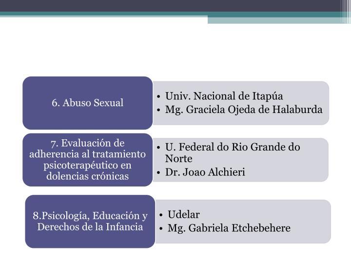 6. Abuso Sexual
