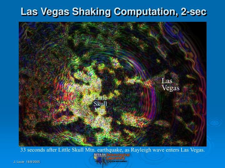 Las Vegas Shaking Computation, 2-sec