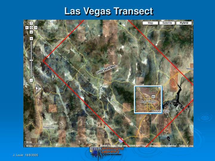 Las Vegas Transect