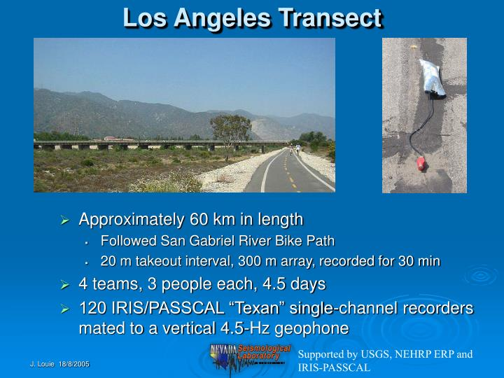 Los Angeles Transect