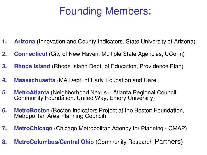 Founding Members: