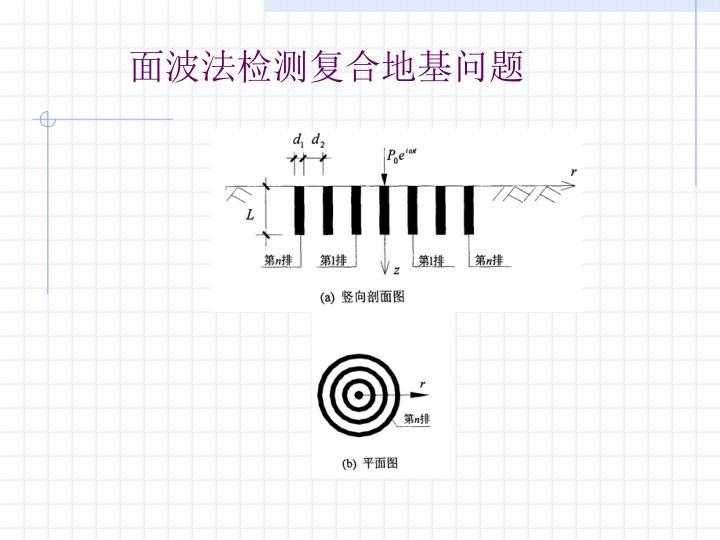 面波法检测复合地基问题