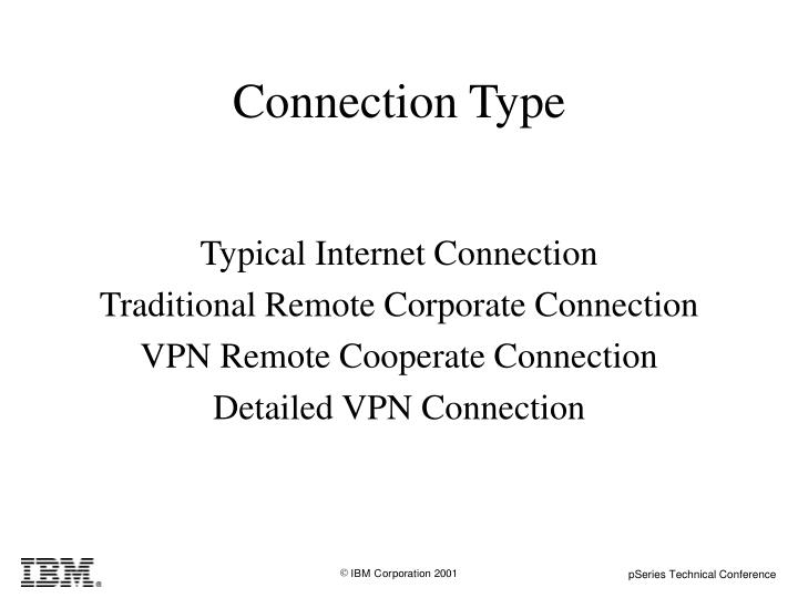 Connection Type