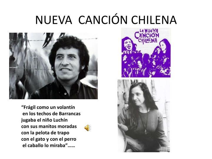 NUEVA  CANCIÓN CHILENA