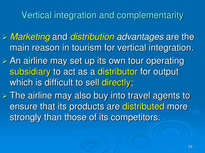 Vertical integration and complementarity