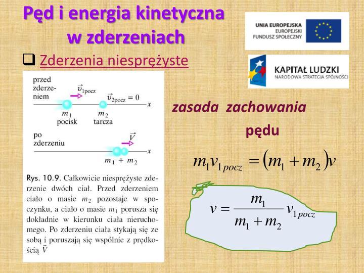 Pęd i energia kinetyczna