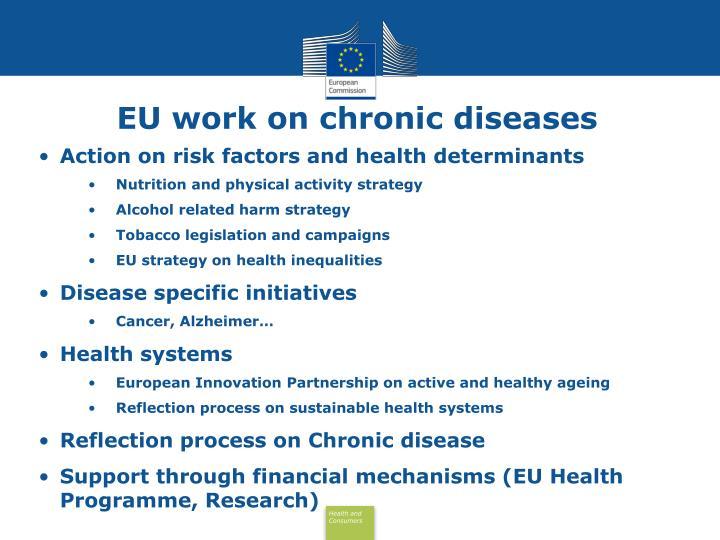 EU work on chronic diseases