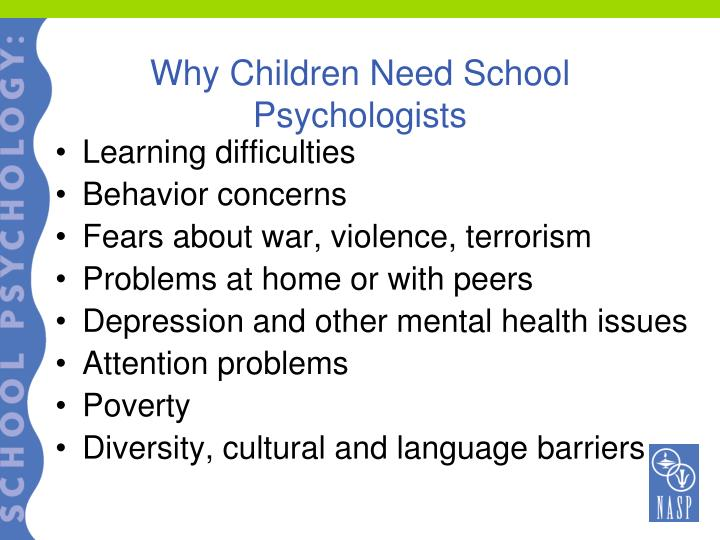 Why Children Need School Psychologists