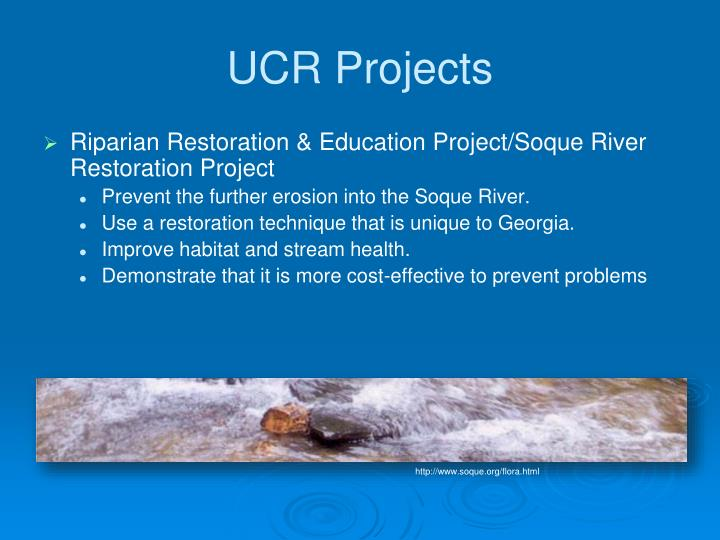 UCR Projects