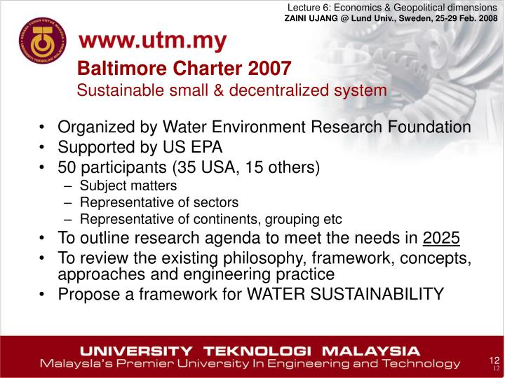Organized by Water Environment Research Foundation