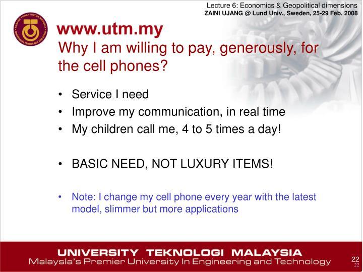 Service I need