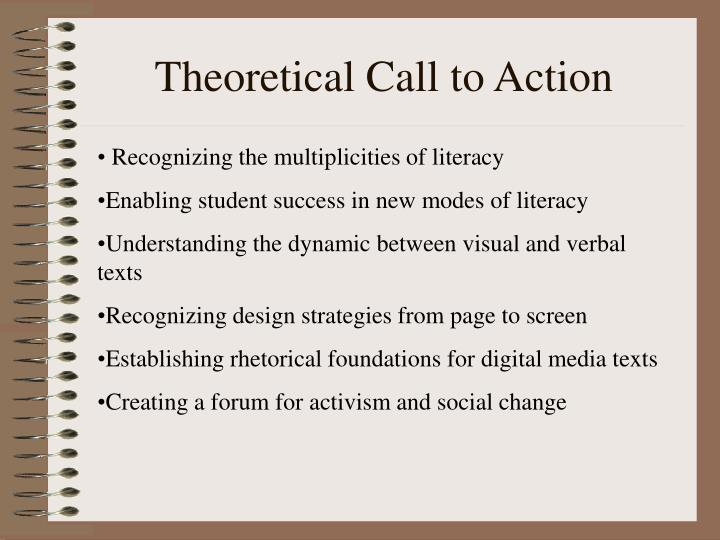Theoretical Call to Action