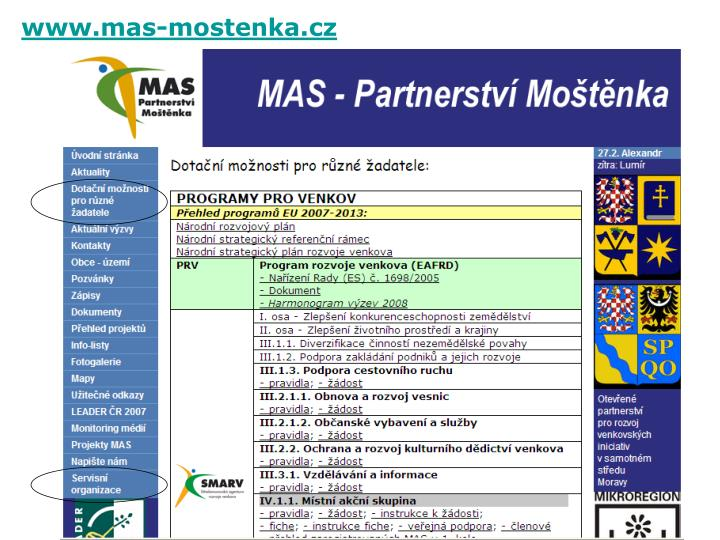 www.mas-mostenka.cz