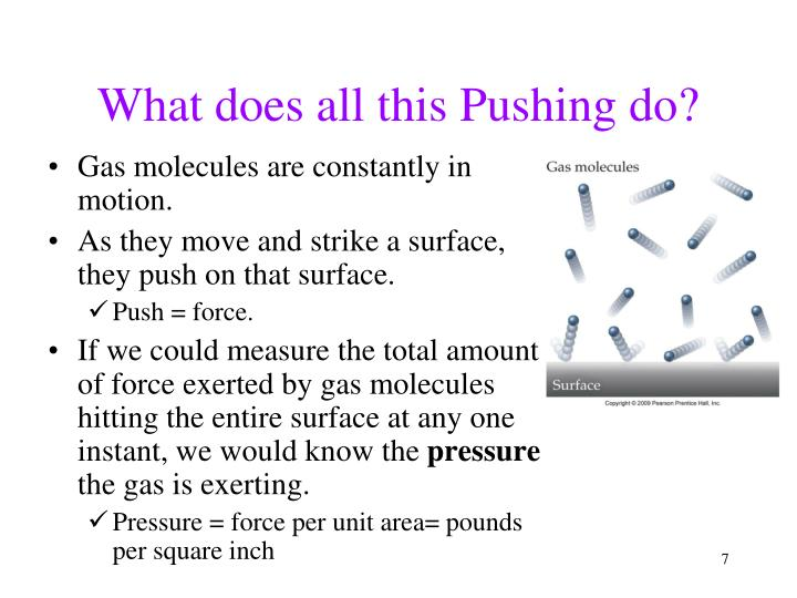 What does all this Pushing do?