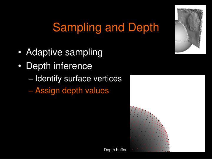Sampling and Depth