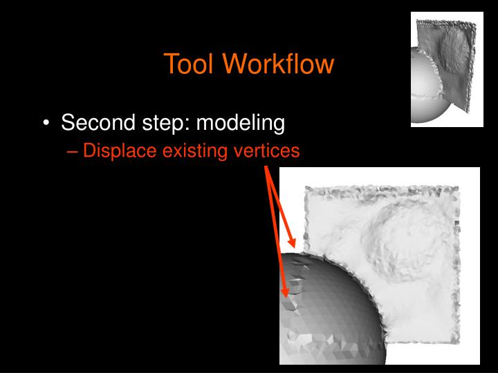 Tool Workflow