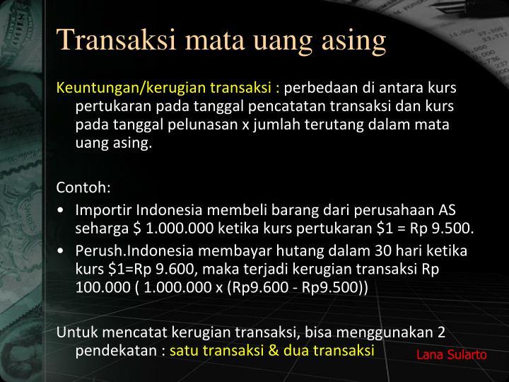 Transaksi