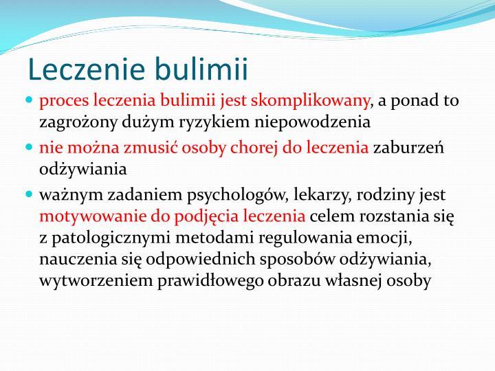 Leczenie bulimii