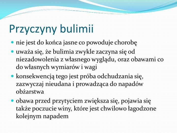 Przyczyny bulimii