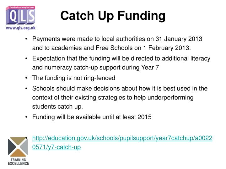 Payments were made to local authorities on 31 January 2013 and to academies and Free Schools on 1 February 2013.