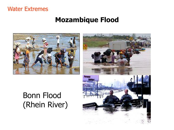 Water Extremes
