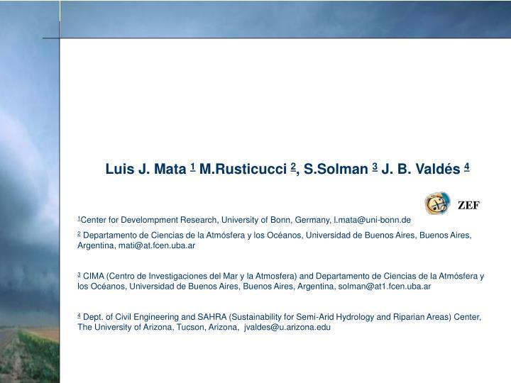 Luis J. Mata