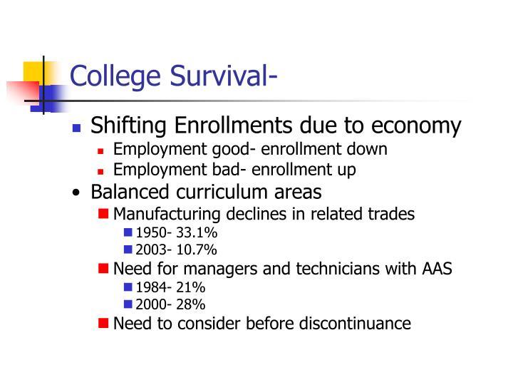 College Survival-