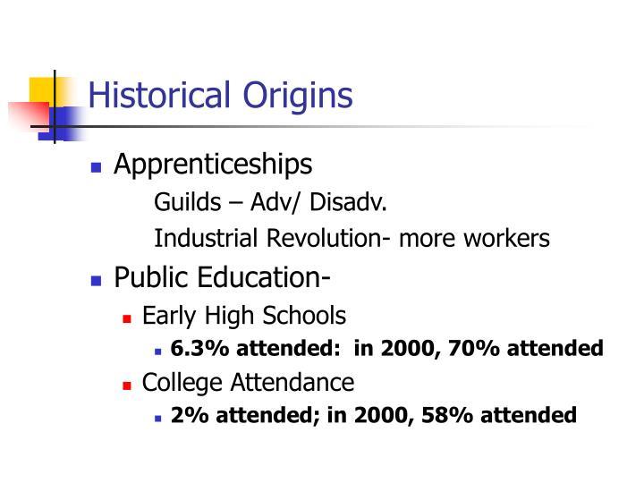 Historical Origins