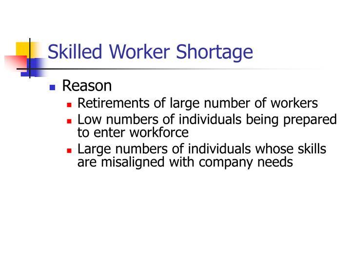 Skilled Worker Shortage
