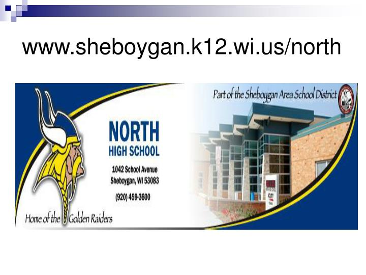 www.sheboygan.k12.wi.us/north