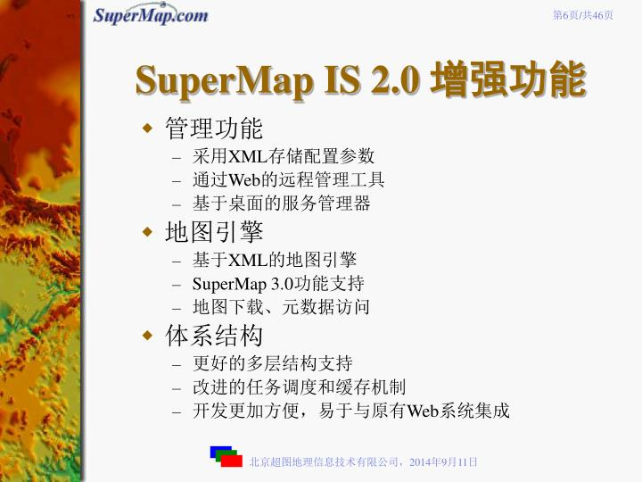 SuperMap IS 2.0
