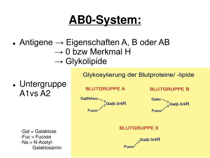 AB0-System: